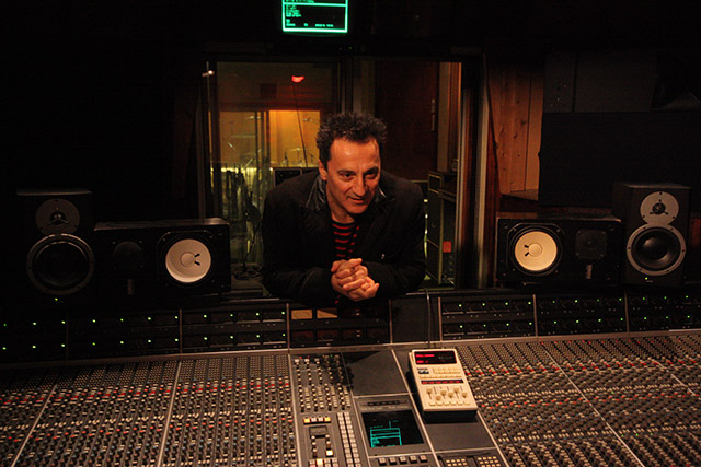 Chris Constantinou in studio